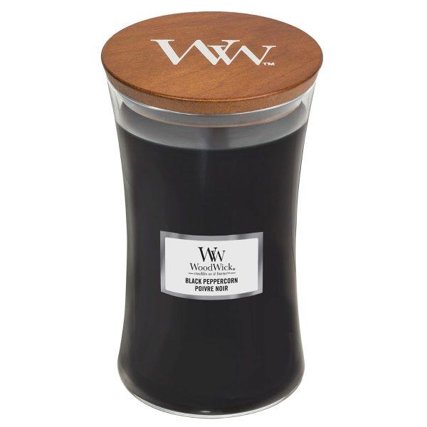 [Woodwick] Bougie Large Black Peppercorn 610 G