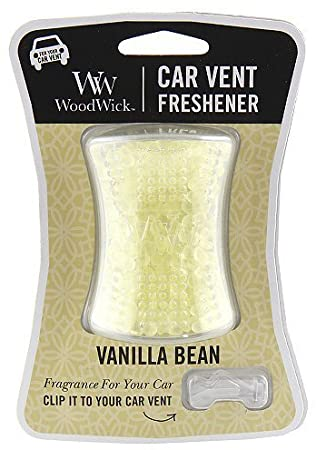 [Woodwick] Diffuseur De Ventillation De Voiture Vanilla Bean