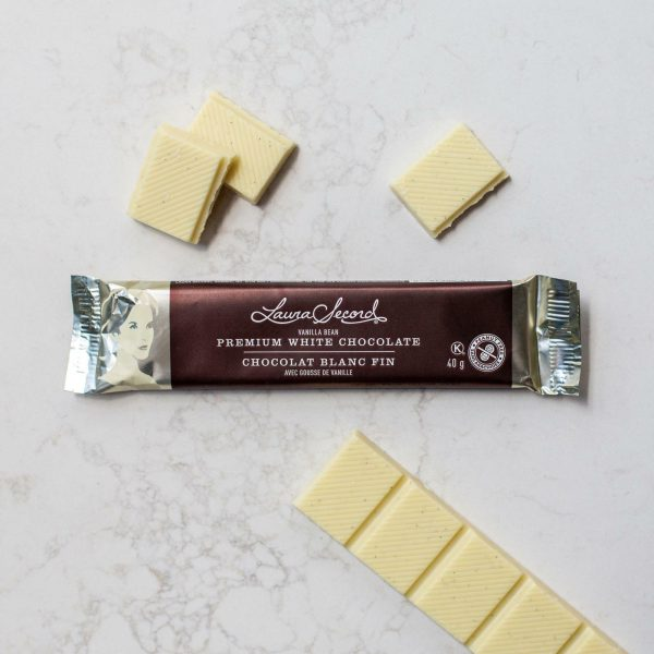 [Laura Secord] Barre Chocolat Blanc Fin 40 G