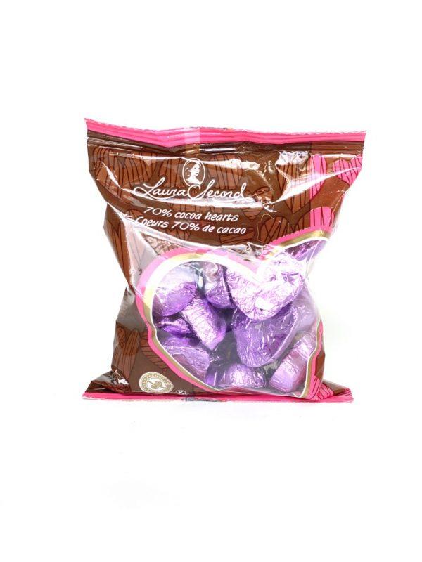 [Laura Secord] Coeurs 70% De Cacao 125 G