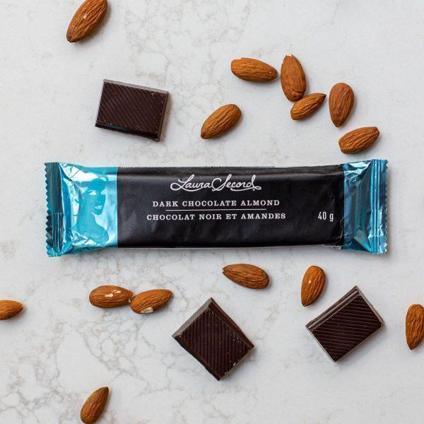 [Laura Secord] Barre Chocolat Noir Et Amandes 40 G