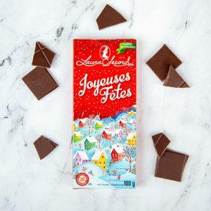 [Laura Secord] Barre Chocolat Au Lait Carte De Souhaits 100 G