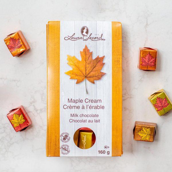 [Laura Secord] Cadeaux En Chocolat Au Lait Et Érable 160 G