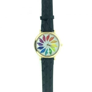 [Clock It To Ya] Montre Bracelet Ecosse Femme 1715-b