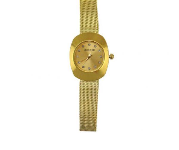 [Clock It To Ya] Montre En Métal Ecosse Femme 1914-c