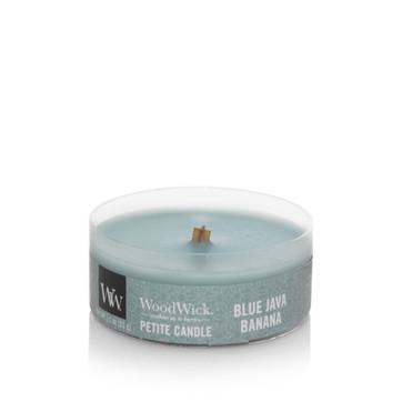 [Woodwick] Bougie Petite Blue Java Banana 31 G