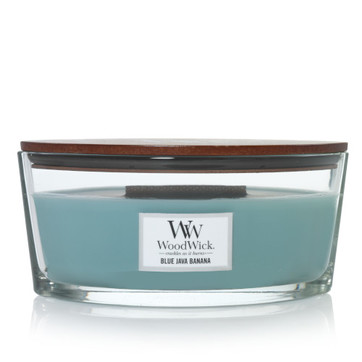 [Woodwick] Bougie Ellipse Blue Java Banana 454 G