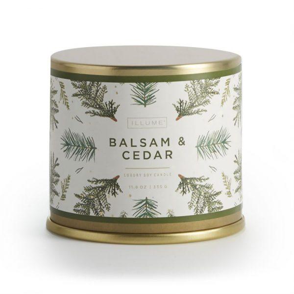 [Illume] Bougie En Étain Balsam & Cedar 335 G