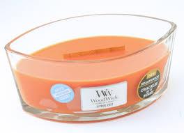 [Woodwick] Bougie Ellipse Citrus Zest 454 G