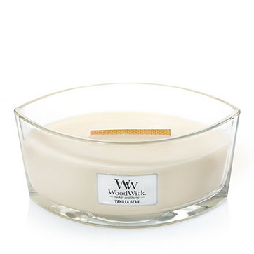 [Woodwick] Bougie Ellipse Vanilla Bean 454 G