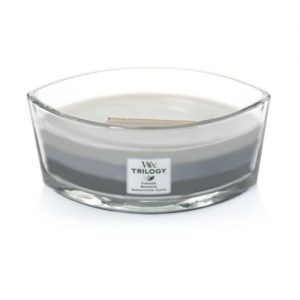 [Woodwick] Bougie Trilogy Ellipse Warm Woods 454 G