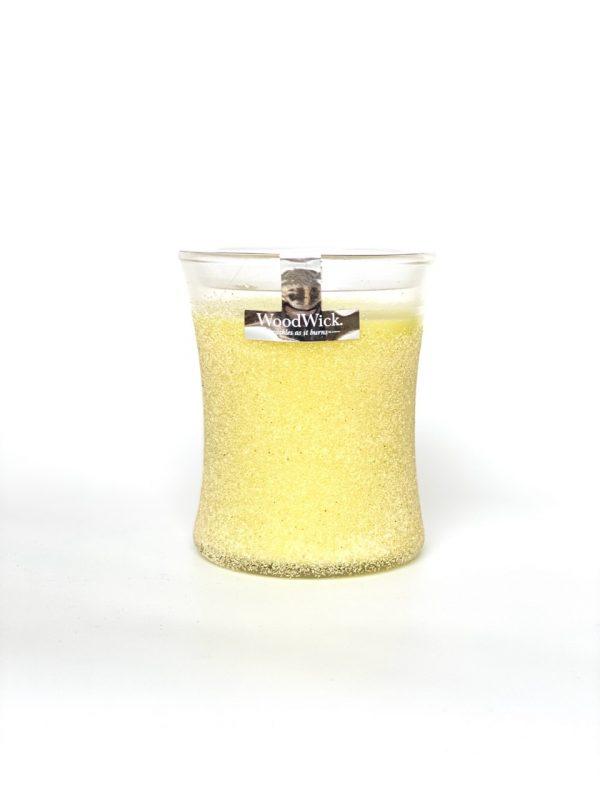 [Woodwick] Bougie Moyenne Artisan Lemongrass 275 G