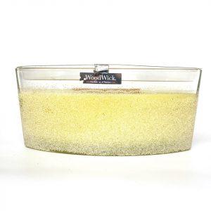 [Woodwick] Bougie Ellipse Artisan Lemongrass 454 G