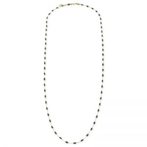 [Fab Bijoux] Collier The Addison En Noir 4 En 1 Argent