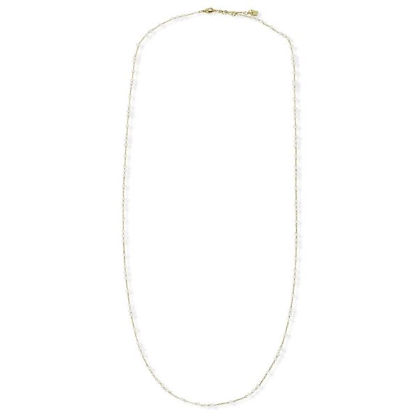 [Fab Bijoux] Collier The Sydney En Blanc Opal Or