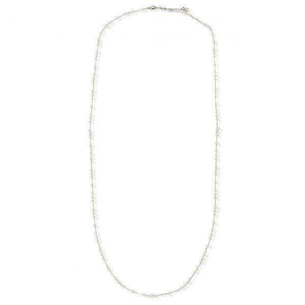 [Fab Bijoux] Collier The Sydney En Crystal 4 En 1 Argent