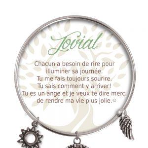 [Clock It To Ya] Bracelet De Charme Jovial Argent