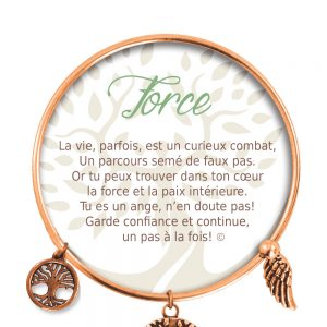 [Clock It To Ya] Bracelet De Charme Force Cuivre