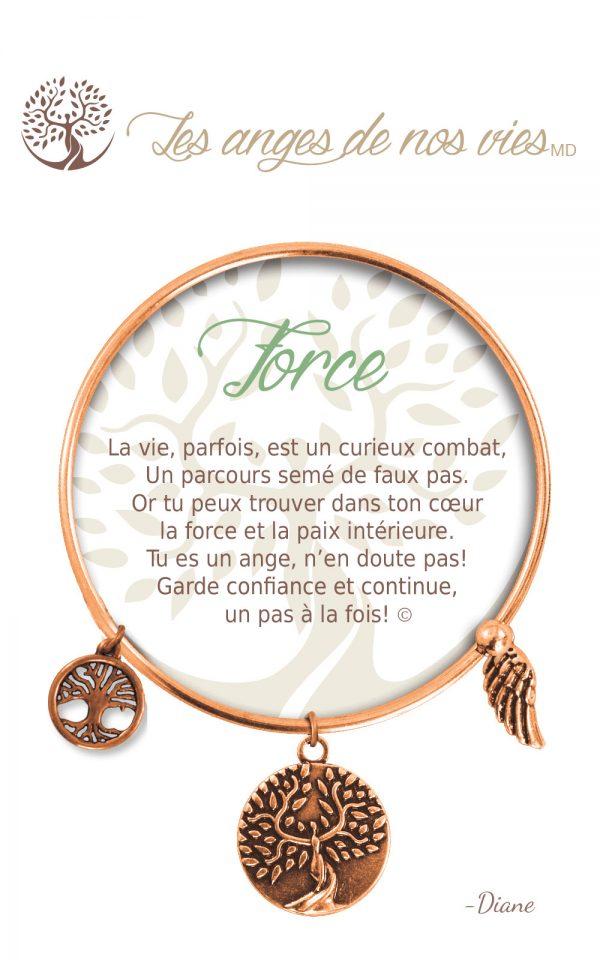 [Clock It To Ya] Bracelet De Charme Force Cuivre