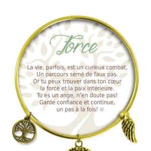 [Clock It To Ya] Bracelet De Charme Force Or
