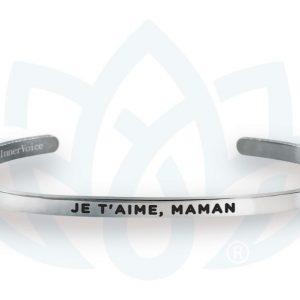 [Clock It To Ya] Bracelet Innervoice - Je T'aime, Maman