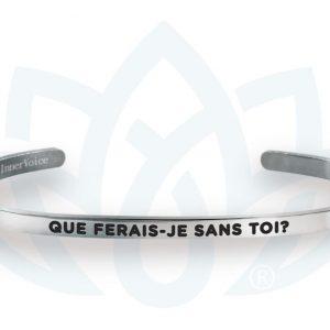 [Clock It To Ya] Bracelet Innervoice - Que Ferais-je Sans Toi?