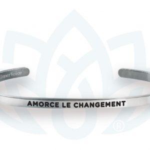 [Clock It To Ya] Bracelet Innervoice - Amorce Le Changement