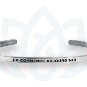 [Clock It To Ya] Bracelet Innervoice - Ca Commence Aujourd'hui