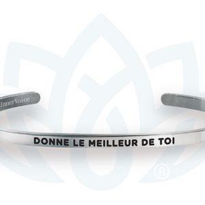 [Clock It To Ya] Bracelet Innervoice - Donne Le Meilleur De Toi!