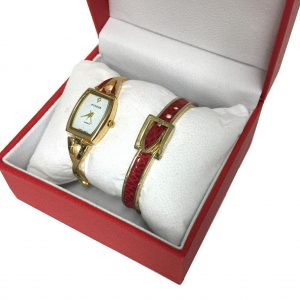 [Clock It To Ya] Ensemble Montre Ecosse Femme Lgs#96