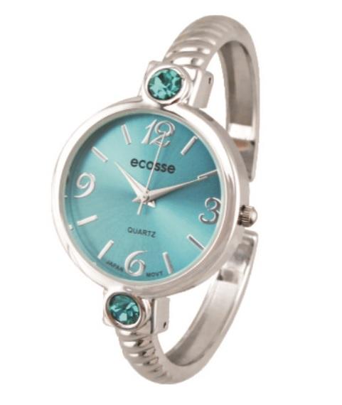 [Clock It To Ya] Montre Bracelet Ecosse Femme Décembre