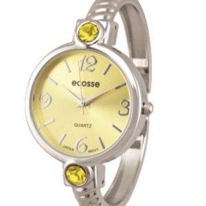 [Clock It To Ya] Montre Bracelet Ecosse Femme Novembre