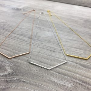 [Fab Bijoux] Collier Brushed Argent