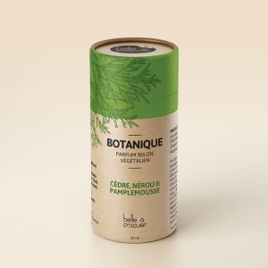 [Belle Á Croquer] Parfum Solide Botanique 30 Ml
