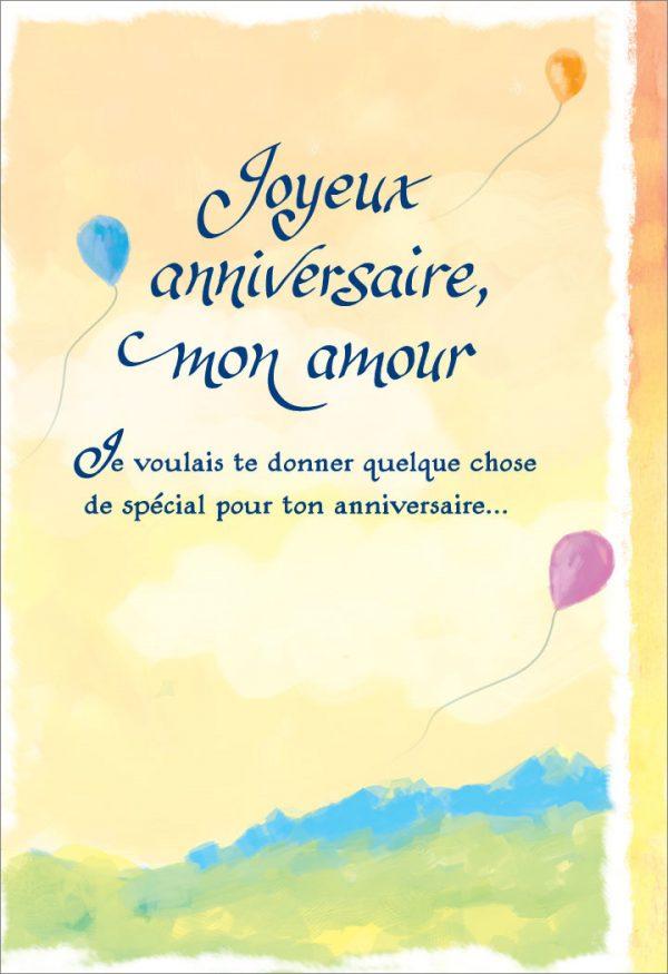 [Incognito] Carte De Souhaits - Joyeux Anniversaire, Mon Amour Frc306