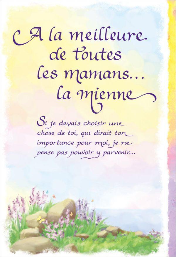 [Incognito] Carte De Souhaits - Á La Meilleure De Toutes Les Mamans...