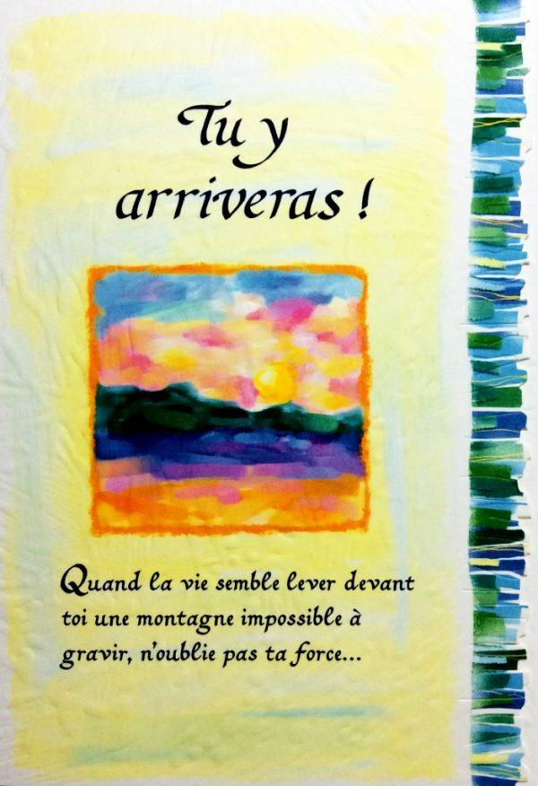 [Incognito] Carte De Souhaits - Tu Y Arriveras! Frc294