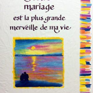 [Incognito] Carte De Souhaits - Notre Mariage Est La Plus Grande...