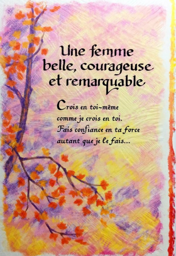 [Incognito] Carte De Souhaits - Une Femme Belle, Courageuse...