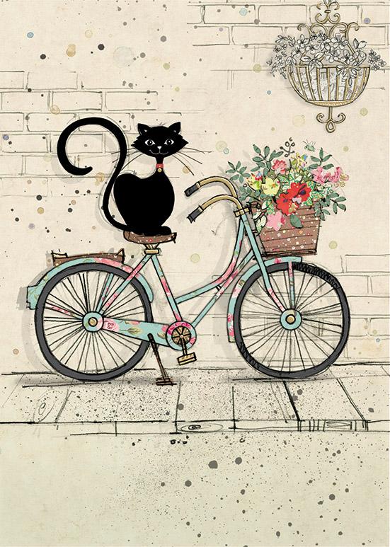 [Incognito] Carte De Souhaits Bike Cat H019