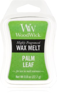 [Woodwick] Mini Cire Fondante Palm Leaf 23 G