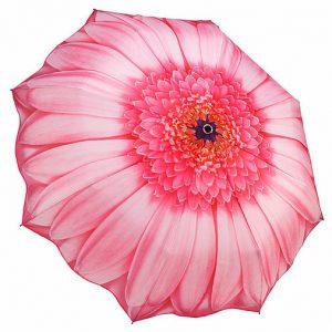 [Galleria] Parapluie Pliable Margerite Rose Gerbara