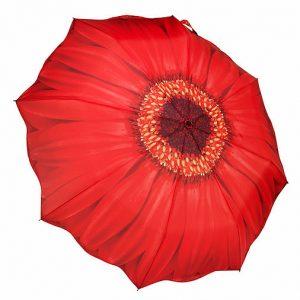 [Galleria] Parapluie Pliable Marguerite Rouge