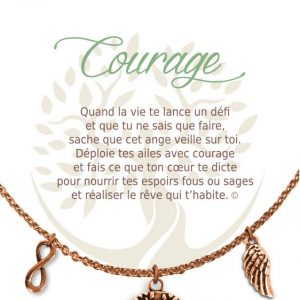 [Clock It To Ya] Collier De Charme - Courage Cuivre