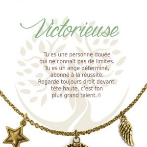 [Clock It To Ya] Collier De Charme - Victorieuse Or