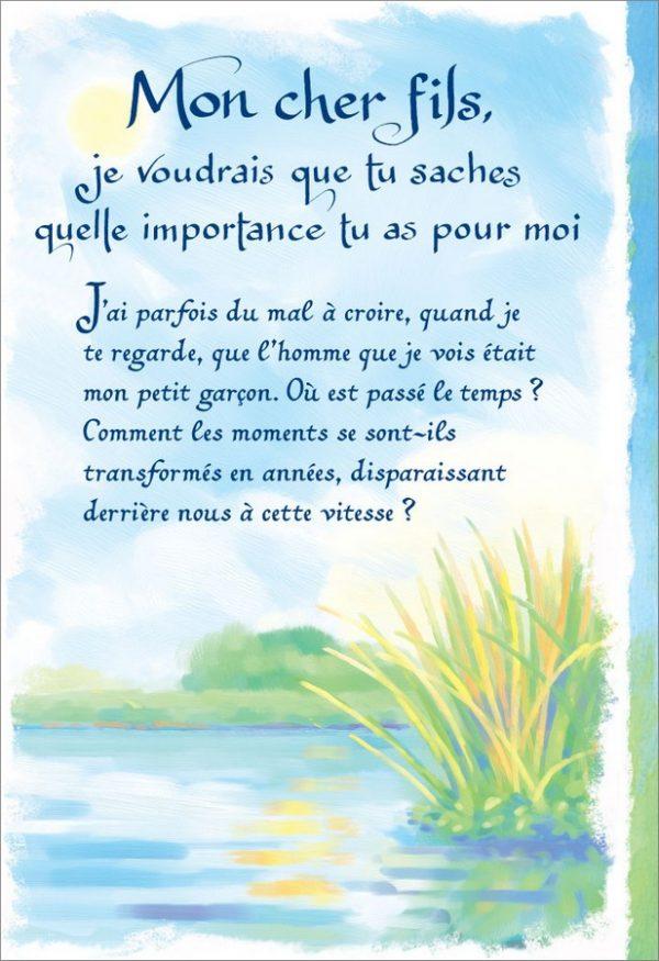 [Incognito] Carte De Souhaits - Mon Cher Fils...