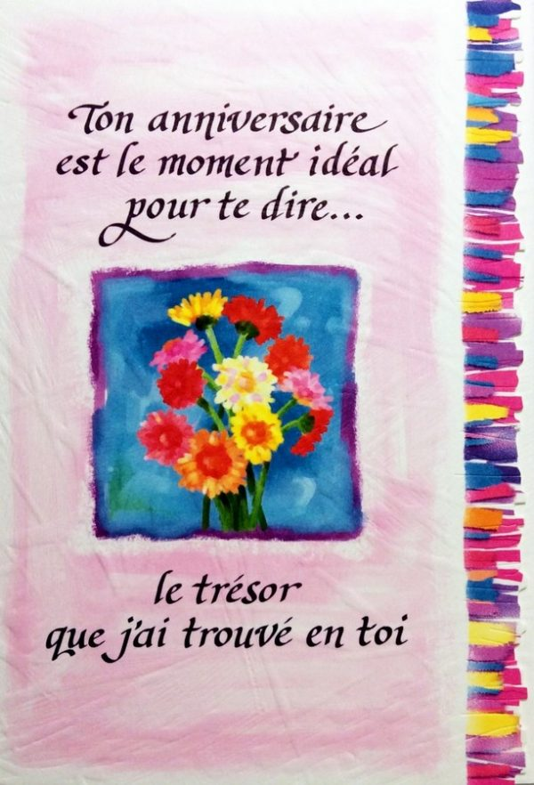 [Incognito] Carte De Souhaits - Ton Anniversaire Est Le Moment... Frc258