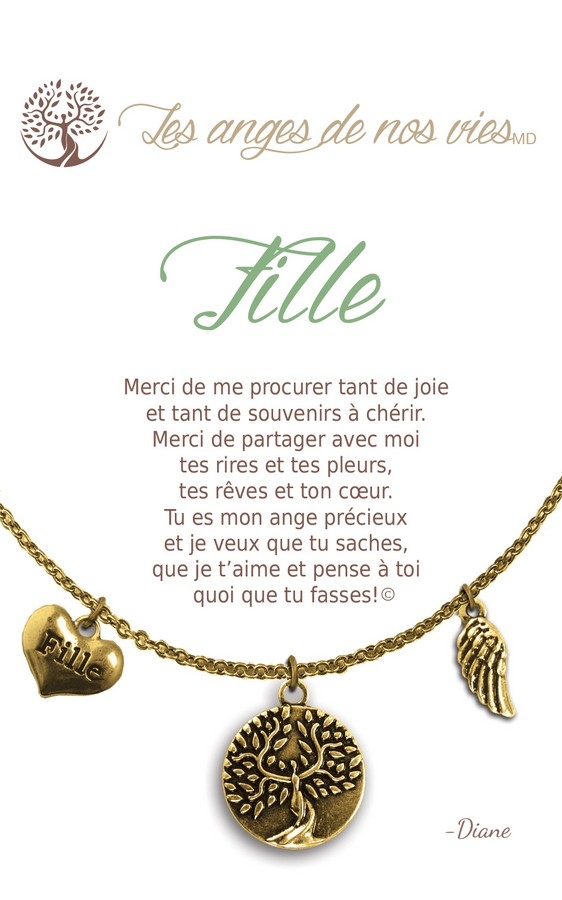 [Clock It To Ya] Collier De Charme - Fille Or