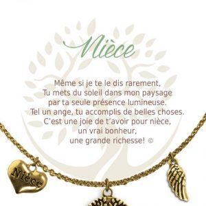 [Clock It To Ya] Collier De Charme - Nièce Or