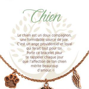 [Clock It To Ya] Collier De Charme - Chien Cuivre
